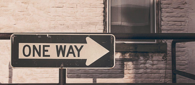 une direction, destinée fixée